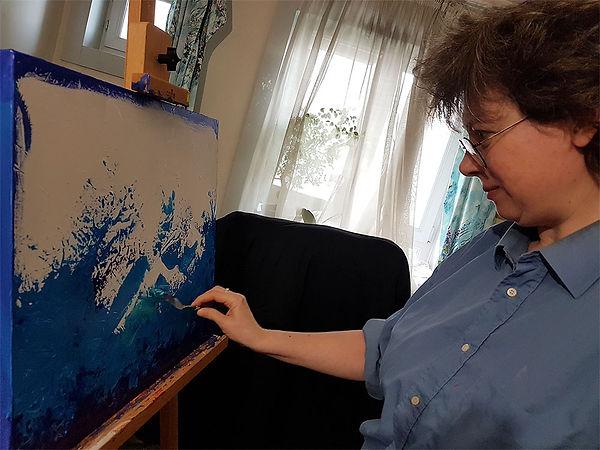 Emma Coffin Artiste peintre peinture abs