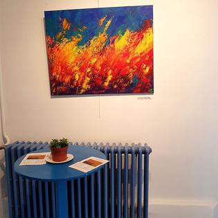 Living Colours par Emma Coffin Exposition Abstraction 2