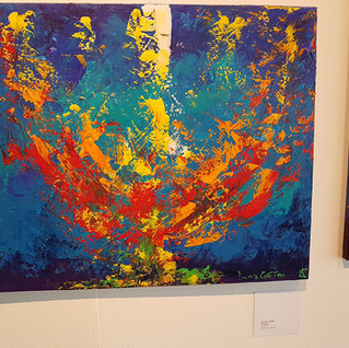 Radiance exposé à The Line Contemporary Art Space à Londres