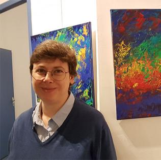 -Emma Coffin, artiste peintre et illustratriceExposition Abstraction 2  P