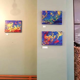 Exposition Cantinella Emma Coffin artiste peintre à Paris