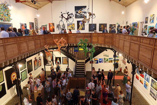 Vernissage Exposition  Art Show Emma