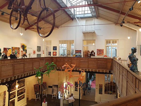 -Vernissage Exposition  Art Show Emma Coffin