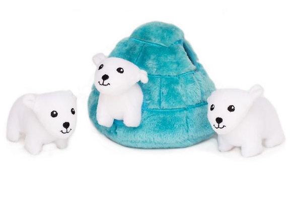 Zippy Polar Bears Igloo Burrow