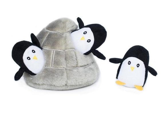 Penguin Cave Burrow