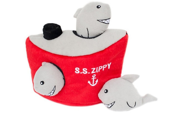 Zippy Ship & squeaky Sharks