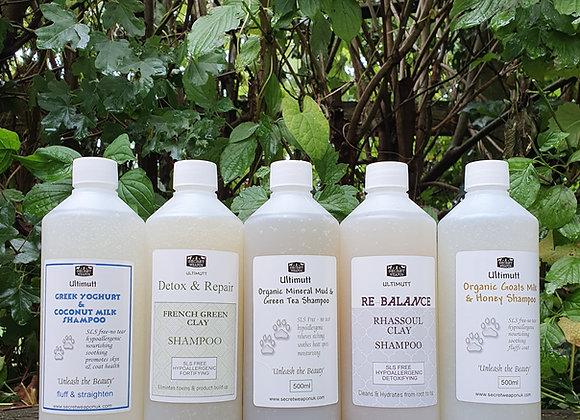 Secret Weapon SLS free Shampoos