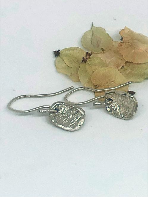 Mini Pod Earrings Silver