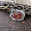 Thumbnail: Burnt Coral Agate& Silver Necklace