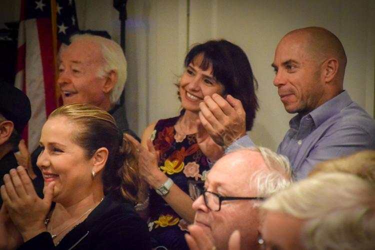 Guests enjoying Opera Wednesday at La Jolla Community Center