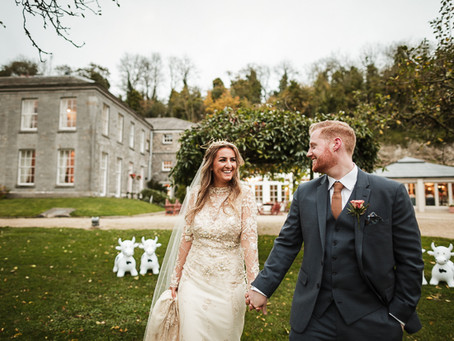 Style, Sparklers and... Scaffolding: Karley & Neil