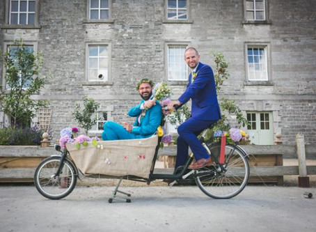 A Bicycle Built For Two: Anderson & James