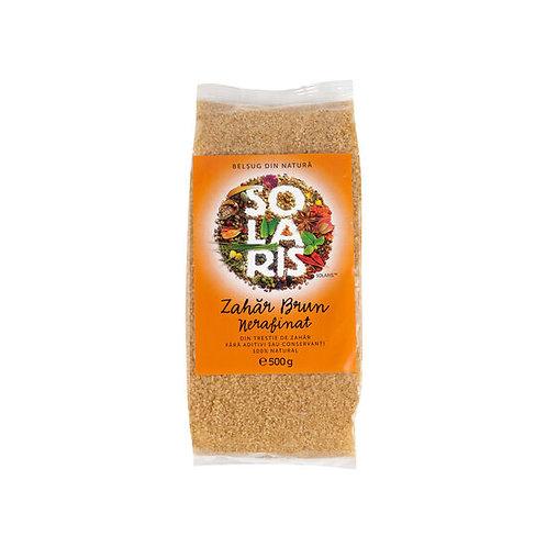 Zahar brun nerafinat 500 g  Solaris