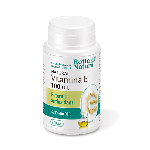 Vitamina E natural 100 UI