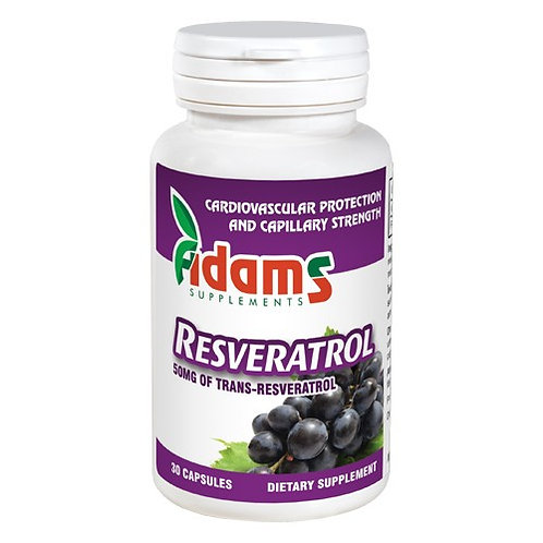 Resveratrol 50 mg 30 cps Adams Vision
