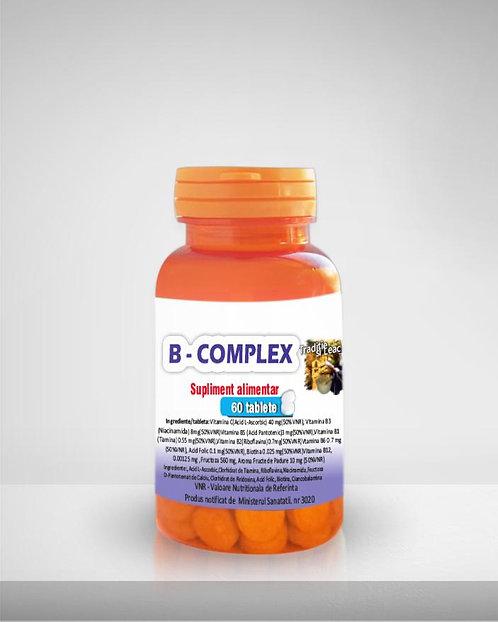 B-COMPLEX MEDICER 60 TABLETE