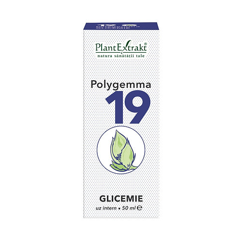 Polygemma 19 Glicemie, 50 ml