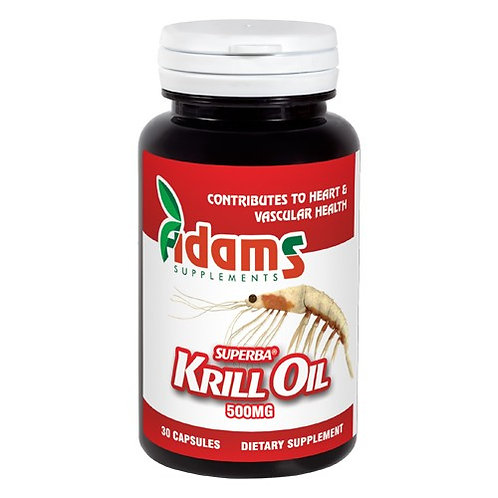 KRILL OIL 500 mg 30 caps ADAMS VISION