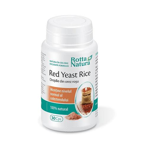 Drojdie din orez rosu (Red yeast rice) 30 cps