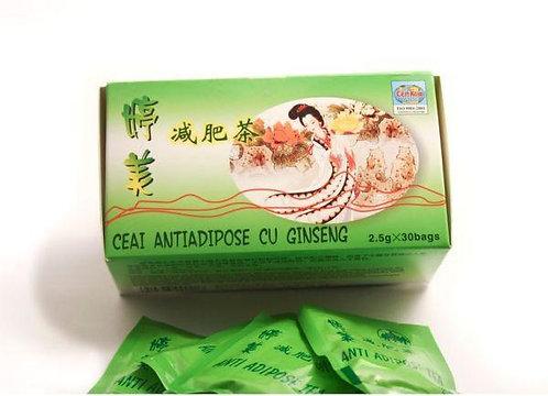 Ceai antiadipos cu gingseng 30 plicuri