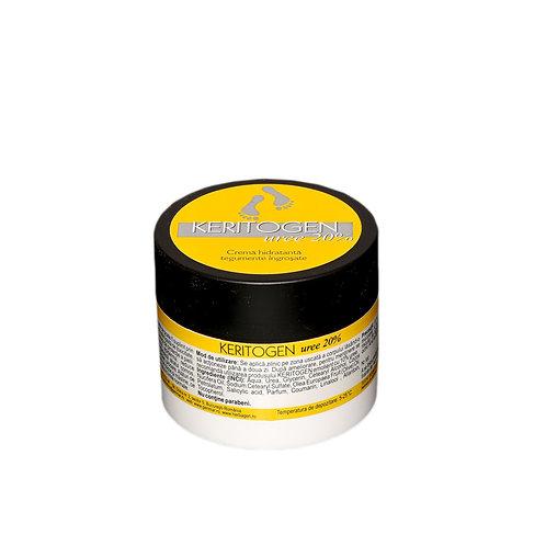 Crema hidratanta tegumente ingrosate cu uree 20%