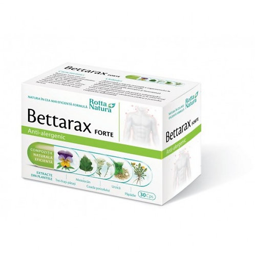 Bettarax forte antialergic 30 cps