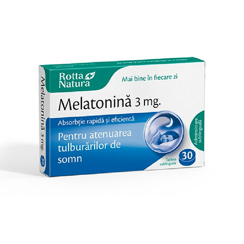 Melatonina 3 mg 30 tablete