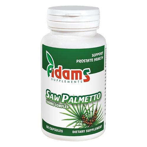 Saw Palmetto 500 mg 60 cps Adams vision
