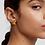 Thumbnail: Ohrringe Fleur Gold