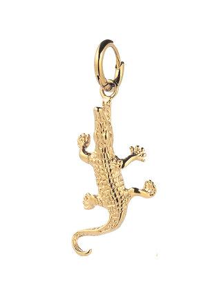 Single Ohrring Krokodil