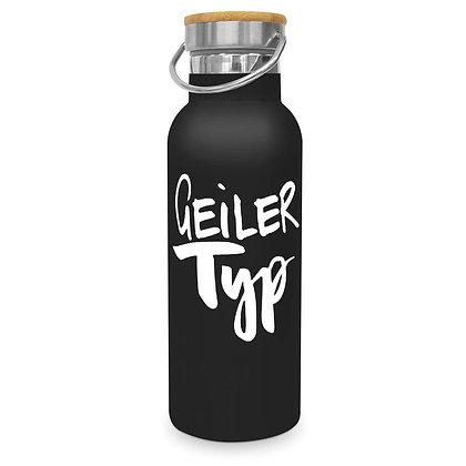 Alu-Trinkflasche Geiler Typ / Schöne Frau