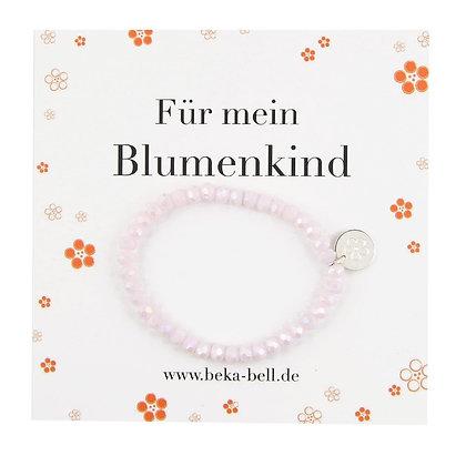 Für mein Blumenkind Armband