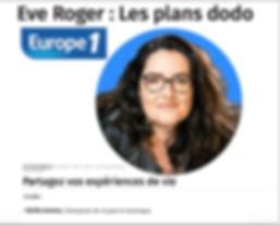 les plans dodo avec cecilia commo sur europe 1