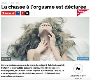 la chasse à l'orgasme est déclarée avec cecilia commo