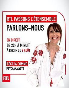 RTL PARLONS NOUS animé par Cecilia Commo.jpg