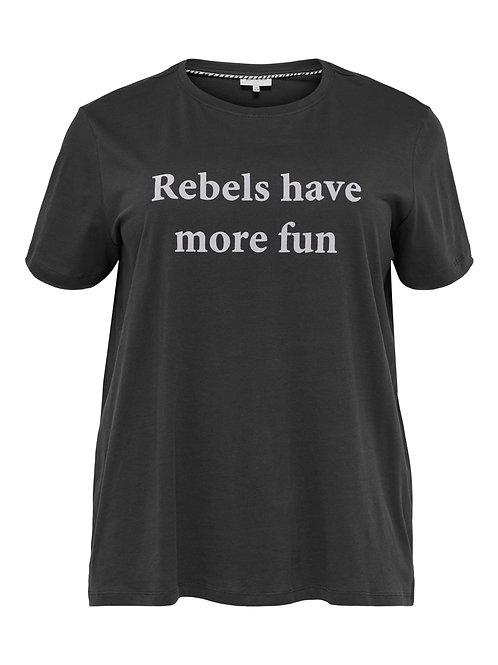 T-shirt 'Rebels have more fun'