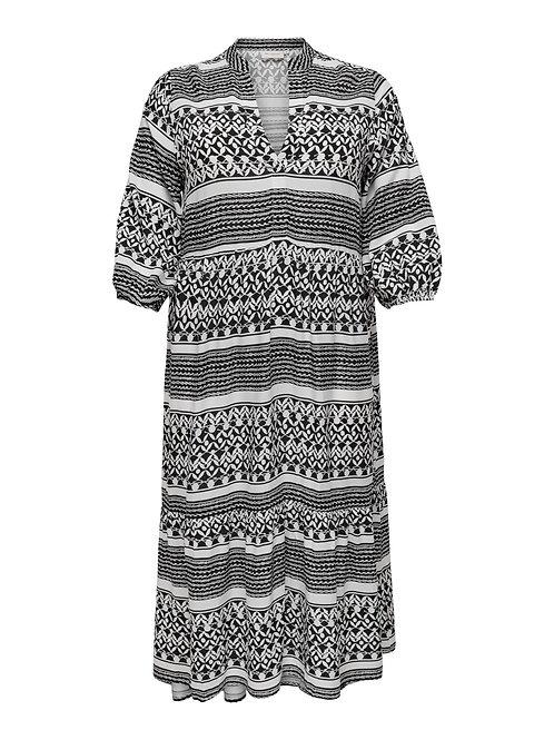 Marrakesh jurk in Zwart-wit