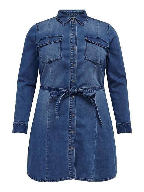 Denim tuniek/long blouse