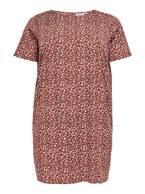 Korte rechte jurk/tuniek