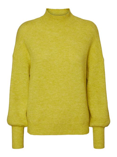 Trui in bright yellow