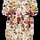 Thumbnail: Jurkje van viscose met bloemenprint