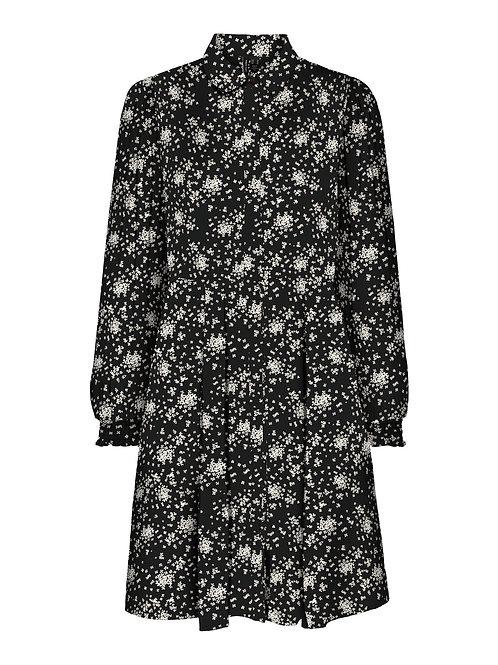 Korte jurk met bloemetjes