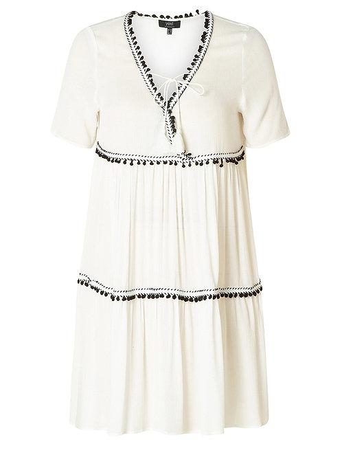 Boho jurkje Jeena in wit