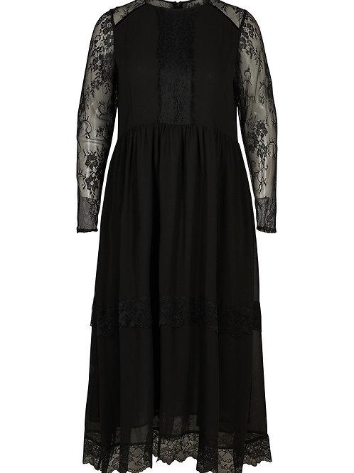 Feestelijke lange jurk met kant