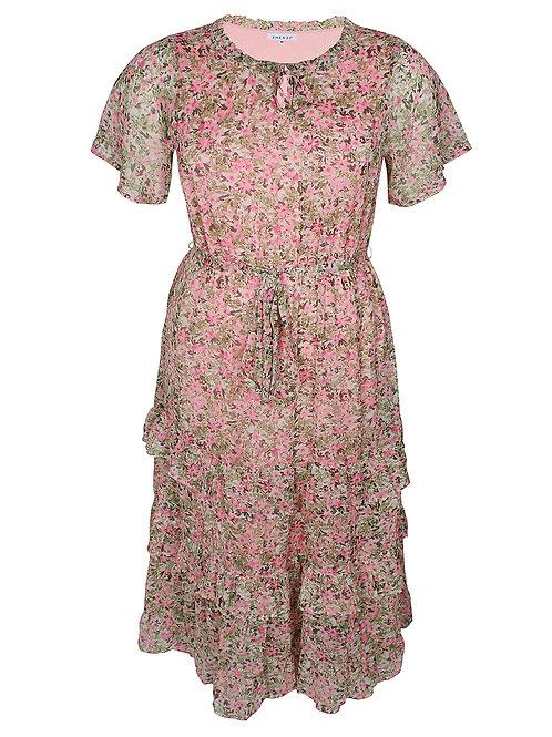 Voile jurk Lima in bloemenprint