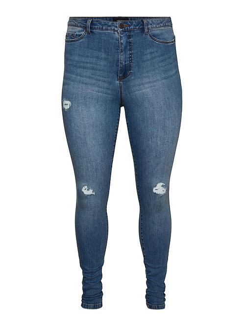 Lora highwaist destroyed jeans