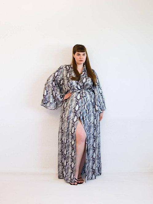 Kimono in snakeprint