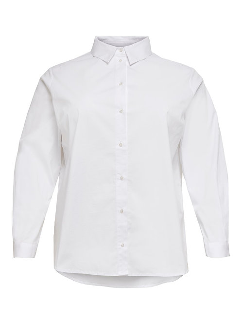 Witte blouse van katoen
