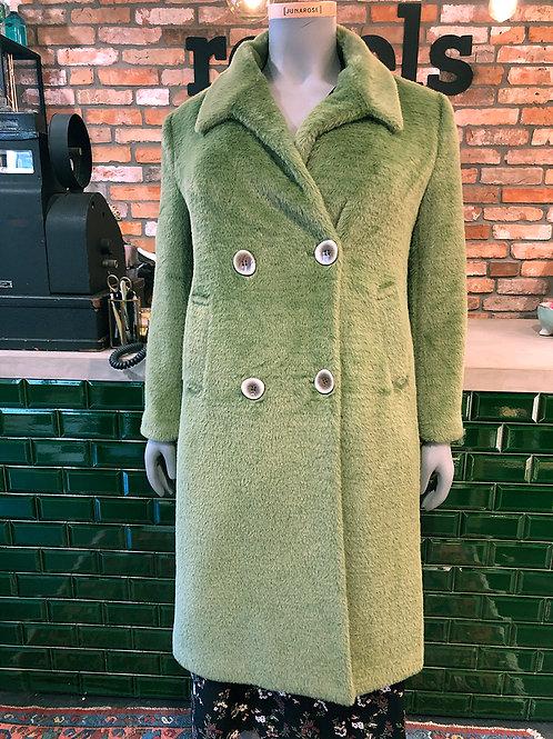 Fun fur coat