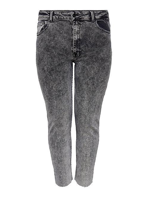 Rica Jeans in black acid wash